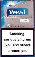 West duo compact+ Cigarettes