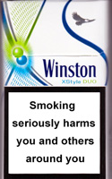 Winston XStyle Duo Menthol Cigarettes