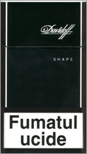 Davidoff Shape Black Cigarettes