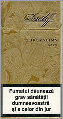 Davidoff Super Slims Gold Cigarettes