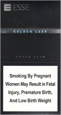 Esse Golden Leaf Super Slims 100's Cigarettes