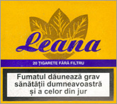 Leana Non Filter Cigarettes