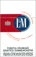 L&M Red (Red Label) Cigarettes