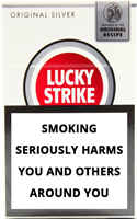Lucky Strike Original Silver Cigarettes