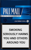 Pall Mall Blue (Lights) Cigarettes