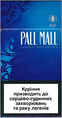 Pall Mall Super Slims Blue (Lights) 100`s Cigarettes