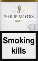 Philip Morris Gold Cigarettes