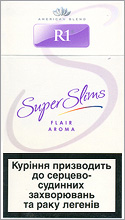 R1 Super Slims Flair Aroma 100's Cigarettes