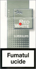 Red&White Super Slims Fine Cigarettes