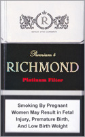 Richmond Platinum Filter Cigarettes