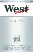West Stream Tec Lights (Silver) Cigarettes