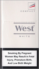 West White Compact Cigarettes