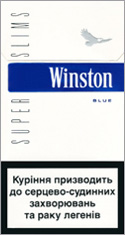 Winston Super Slims Blue 100`s Cigarettes