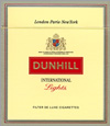 Dunhill International Lights