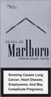 Marlboro Gold Prime Edge Super Slims 100s