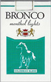 BRONCO LIGHT MENTHOL SOFT KING