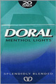 DORAL LIGHT MENTHOL BOX KING
