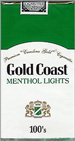 GOLD COAST LIGHT MENTHOL SP 100