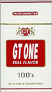 GT ONE FULL FLAVOR BOX 100