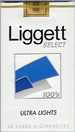 LIGGETT SELECT ULTRA LT SF 100