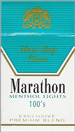 MARATHON MENTHOL LIGHT BOX 100