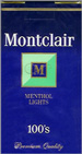 MONTCLAIR LIGHT MENTHOL 100